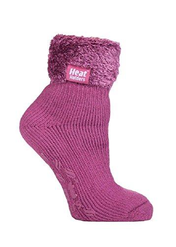 Damen Thermo Warm Wärme Holders nicht Slip Lounge Bett Socken UK 4-8, EUR 37-42 (SHERBOURNE (420))