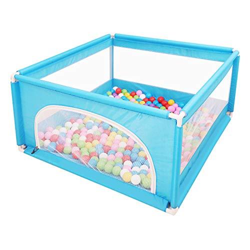 LIUSU-Baby Playpen Clôture De Protection Domestique pour Garde-Corps Rampant pour Bambin, Parc d'enfant Parc De Jeux pour Enfants, Bambin, Hauteur 62 Cm
