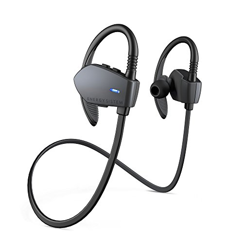 Energy Sistem Earphones Sport 1 Bluetooth (Auriculares inalambricos, Bluetooth, Control Talk, Sport, Hook) - Gris
