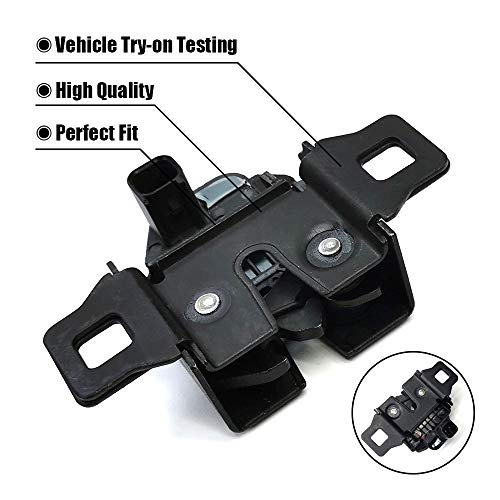 Hood Latch Compatible with Toyota Highlander 2010-2013 Assembly Steel with Theft Deterrent USA Built