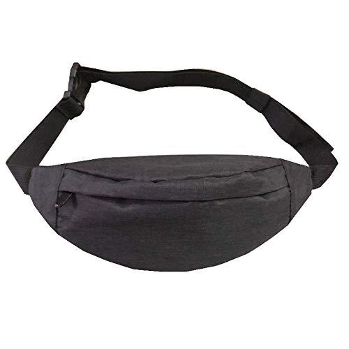 Sporttaschen Männer und Frauen Reisen Brusttasche Fitness ReitenLauftaschenschwarz25 * 12CM