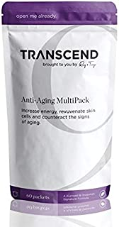 Transcend (Formerly Ray & Terry's) Anti-Aging Supplement Combination: 30 Day Supply Individual Dose Packets Contain 3 Supplements to Counterract Biochemical Aging