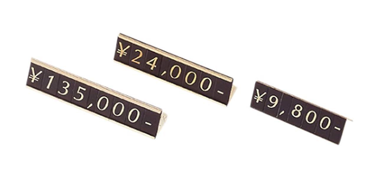 キャストボクシングそれらアズワン プライスホルダー 置き式 数字5桁表示/61-7256-14