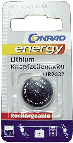 Conrad KNOPFZELLENAKKU Lithium LIR2032
