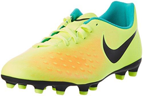 Nike Herren Magista Ola II FG Fußballschuhe, Gelb (Volt/Black-total Orange-Clear Jade), 42.5 EU