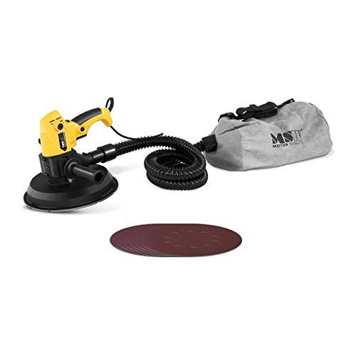 MSW Lijadora De Pared Con Bolsa Para Polvo MSW-DW1S200WB (1.010 W, Ø225 mm, 1.300-3.200 rpm, 6 discos de lijar, con manguera de aspiración y bolsa para el polvo)