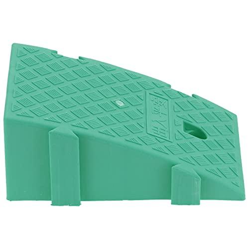 Fournyaa Rampa de Pendiente, rampa de acera Ligera Flexible para Entrada de casa para garajes de casa para muelles de Carga para Pendientes de acera(Verde)