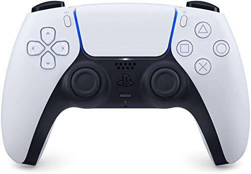 Manette PlayStation 5 officielle DualSense, Sans fil, Batterie rechargeable, Bluetooth, Couleur : Bicolore