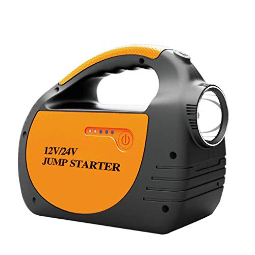 ZQYR JUMPSTARTER# 800A 30000mAh Tragbare Auto Starthilfe Autobatterie Anlasser Externes Akku-LadegeräT Mit LED Taschenlampe Geeignet FüR 12 Volt / 24 Volt Benzin- Und Dieselfahrzeuge