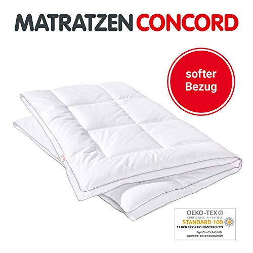 Matratzen Concord Monosteppbett Ganzjahresdecke aus kuschelig weichem Polyester-Microfasern, waschbar, Decke 135 x 200 cm