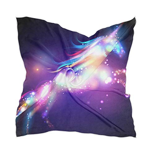 Hoofdsieraad Unicorn Magic With Stars Sheer halsdoek zijden sjaal dames halsdoek chiffon