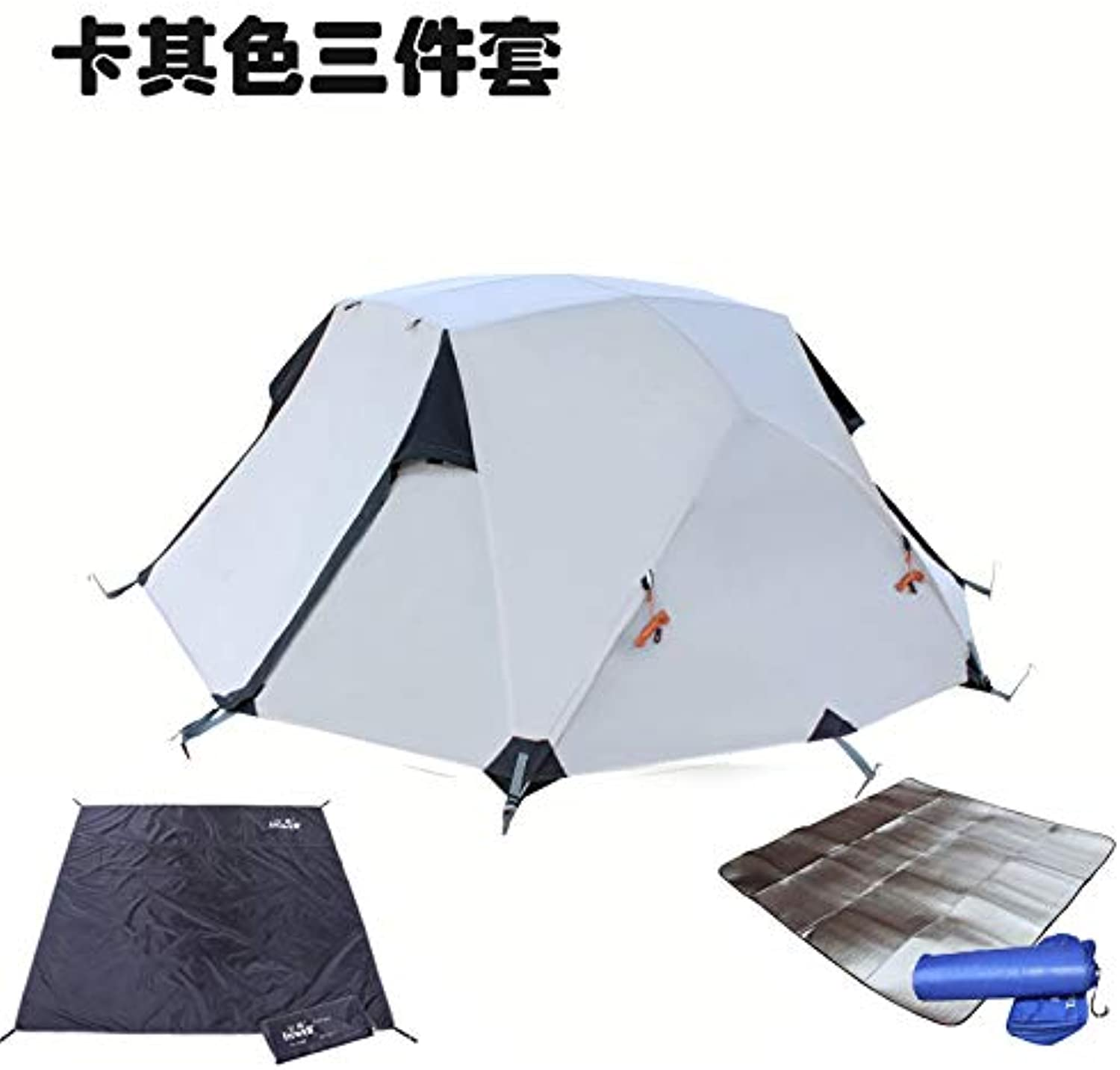 Male Wolf Outdoor Tent Camping Equipment Multiplayer Aluminum Pole Double bunk rain Seasons Winter Camping Field