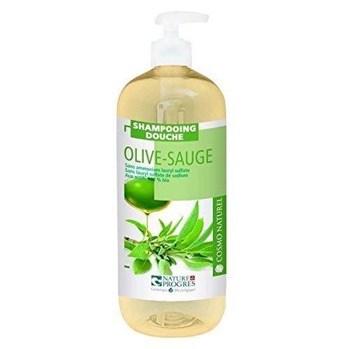 Cosmo Naturel Shampoing douche Olive Sauge 1L