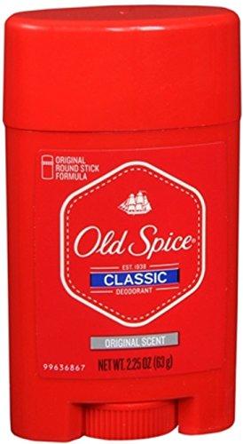 Old Spice Classic Deodorant Stick Original Scent 2.25 Oz (012044343104)