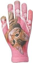 イチーナ スマートフォン(スマホ)対応 タッチパネル対応手袋 ピタクロタッチプリント 猫 (メンズ&レディース・フリーサイズ)