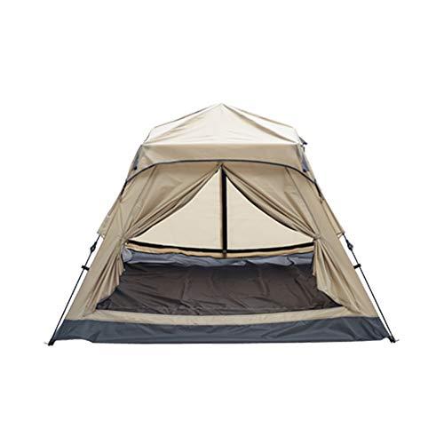 BLWX - Tienda al Aire Libre Despliegue automático 3-4 Personas Camping Camping Impermeable a Prueba de Viento Familia 210X210X120CM Tienda (Color : A)