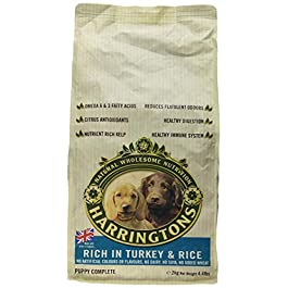 Harringtons Complete Dry Puppy Food Rich in Turkey and Rice, 2 kg