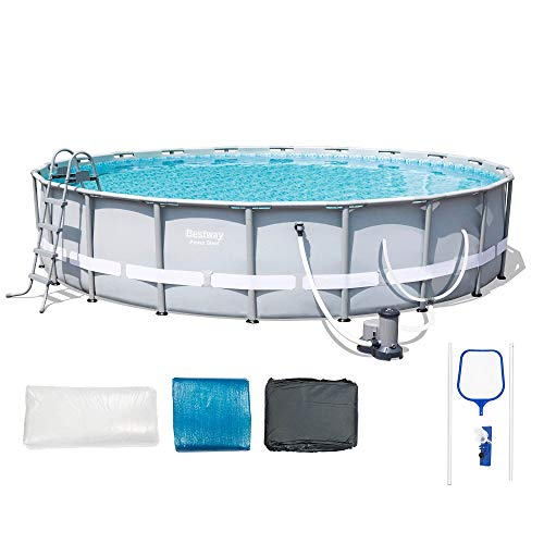 Bestway 56388E Power Steel Frame Pool Set, 20' x 48