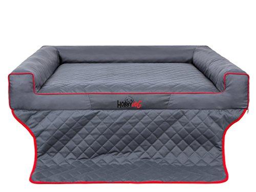 Hobbydog R1 Viki Hondenmand/Bed/Slaapbank Geschikt voor Trunks, 90 x 70 cm, Grijs