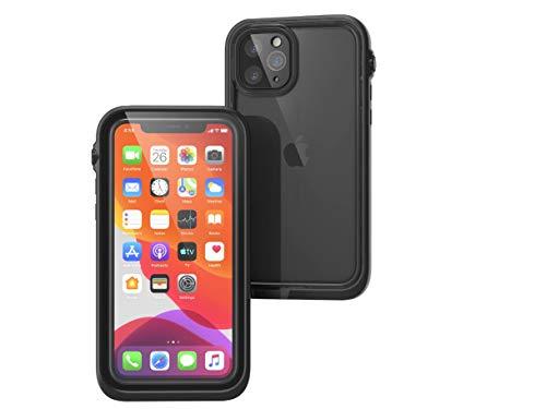 Catalyst wasserdichte Hülle für iPhone 11 Pro mit Lanyard, transparenter Rückseite, Standard-Militärqualität, 10 m wasserdicht, 2 m sturzfest, für iPhone 11 - Schwarz