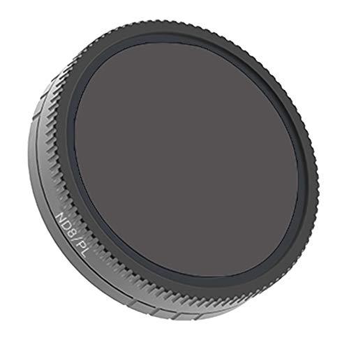 FiedFikt ND8-PL Hoeken Camera Lens Waterdichte Olie-proof krasbestendige Filters Voor DJI Osmo Actie Optische Glas Filters Ultra Licht Frame Luchtfoto Aluminium Frame