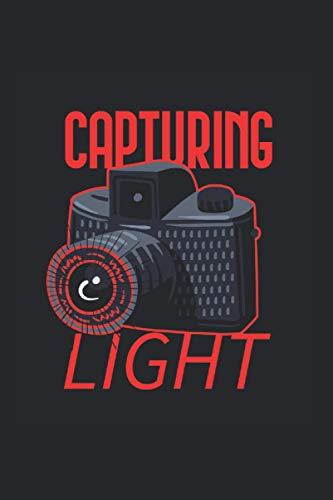 Caputring Light Beruf Blende Kamera Spiegelreflex: Skizzenbuch Malbuch Ideenbuch Notizbuch A5 120 Seiten