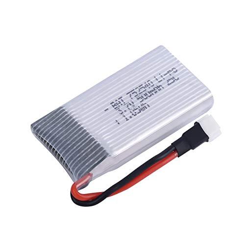 MXECO 3.7V 500mAh 25C Lipo Batteria Pezzi di Ricambio per Syma X5 X5C H5C X5SC X5A RC Quadricottero durevolmente Progettato