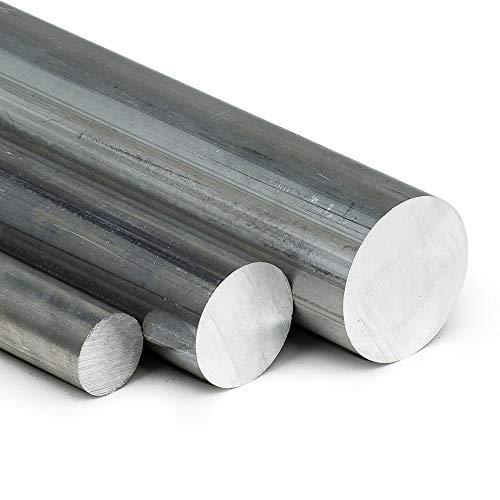 Aluminium rund AW-2007 AlCuMgPb Ø 10 mm | L: 500mm (50cm) Rundstab Zuschnitt