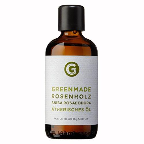 Rozenhout olie - 100% natuurzuivere, etherische olie (100 ml) van greenmade