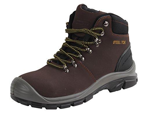Blackrock SF77 Malvern veiligheidswandelaar (bruin) S3 SRC, Size 8, BRON, 1