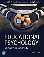 Educational Psychology: Developing Learners (10th Edition)