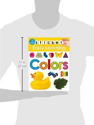 Sticker Early Learning: Colors