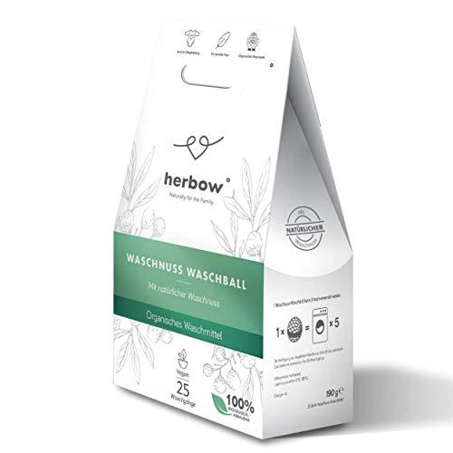 Nachhaltiger Waschnuss-Waschball von Herbow