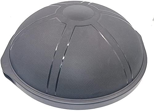 Fuerza Ejercicio Balanza Balanza Balanza Transporte Traisor Medio Bola con Banda Resistente Fuerza Ejercicio Fitness Yoga con Pie Foot Bomba (Color: Azul Tamaño: 64 cm)-64cm_Negro