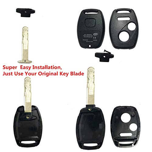 1 Pack Keyless2Go Replacement Keyless Entry Remote Key for 3 Button MLBHLIK-1T and 35111-SWA-306