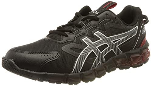 ASICS Gel-Quantum 90, Zapatillas Deportivas Hombre, Black Electric Red, 46.5 EU
