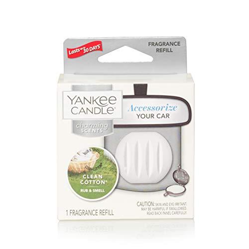 Yankee Candle 5038581044415 Clean Cotton Refill Charming profumatore per Auto, Multicolore, Unica