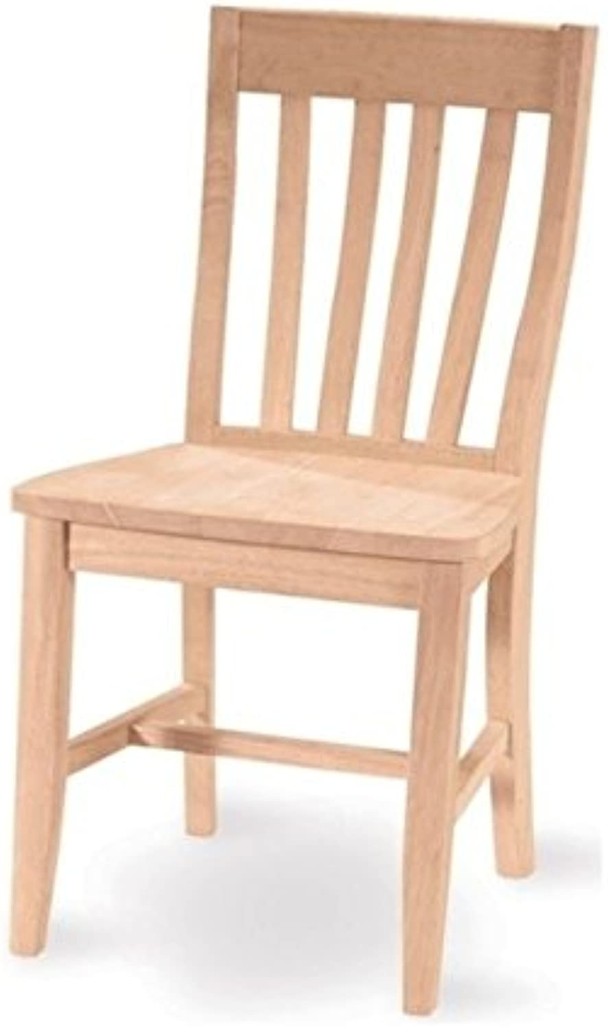 Pemberly Row Unfinished Cafe Dining Chair Set of 2
