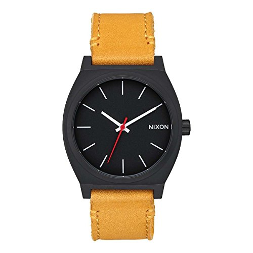 Nixon Reloj Analógico para Hombre de Cuarzo con Correa en Cuero A0452448-00