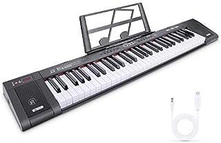 Digital Keyboard Tastiera di Pianoforte Tastiera Musicale Pianola Tastiera Digitale Portatile con 61 Tasti,200 ritmi 200 t...