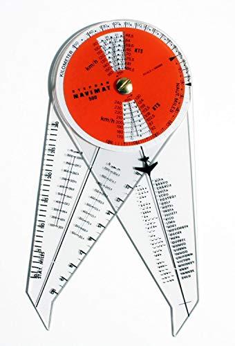 Navimat Navigationszirkel 500 für Flugnavigation