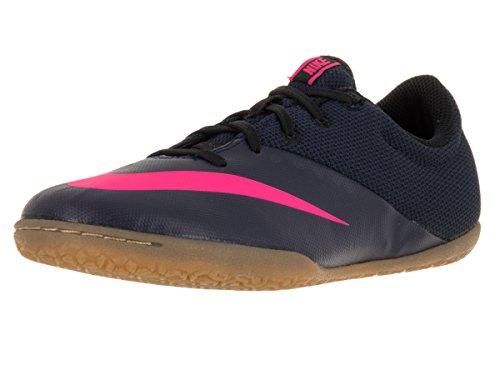 Nike Unisex Baby Jr MercurialX Pro IC Fußballschuhe, Azul Marino (Mid NVY/Mid NVY-Pnk BLST-RCR B), 38 EU