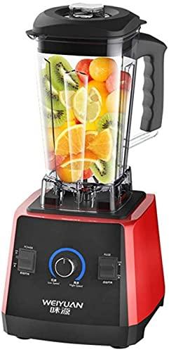 ZJDM Exprimidor Licuadora eléctrica Homefessional Licuadora eléctrica Licuadora de Alimentos Exprimidor de Frutas