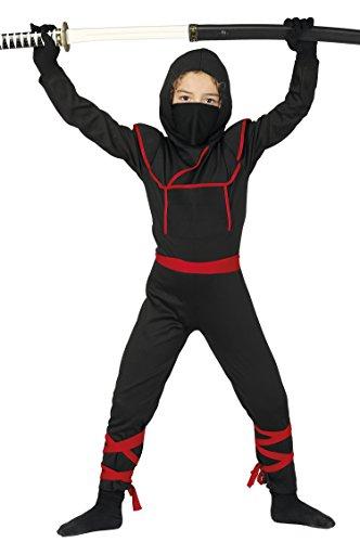 Guirca- Disfraz 10-12 años Ninja Samurai, u (81888.0)