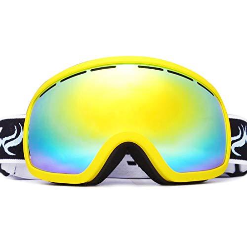 FENXIMEI Ski Goggle Mountaineering Ski Masker Set Anti-mist voor Beginners Glas Lens Zwemmen Snorkeling Silicium 5 Kleuren kunnen worden Kies
