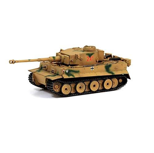 Yxxc Kits de Modelos para Adultos Modelo de plástico de Tanque Fundido a presión a Escala 1/72, Tanque Tiger 504 de Alemania de la Segunda Guerra Mundial, Juguetes y Regalos Militares, Tiempos de