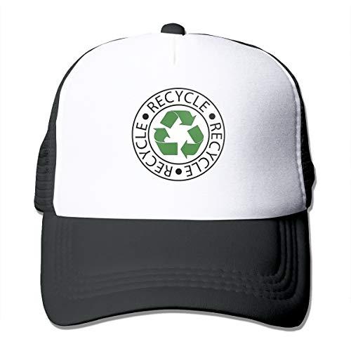XNLHQH IJ Recycle Green Ceter Logo Baseball Cap Adjustable Outdoor Mesh Cap Trucker Dad Hat