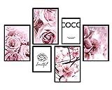 bilderreich Premium Poster Set Coco Blüten und Blumen |