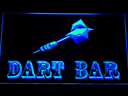 ADVPRO m118-b Dart Bar Neon Light Sign Barlicht Neonlicht Lichtwerbung
