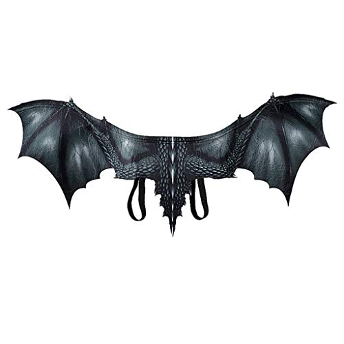 Halloween Dragon Costume Cosplay Animal Wing Accessory Dragon Wing Black
